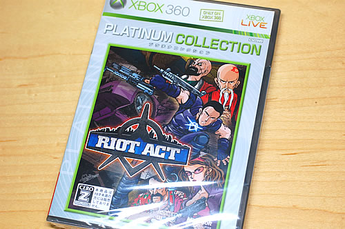 Xbox360 RIOT ACT(CRACK DOWN)