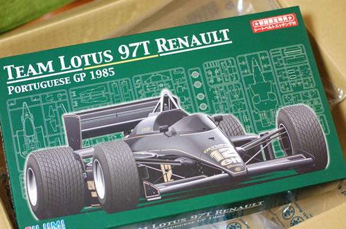 フジミ ロータス97T Renault ポルトガルGP仕様