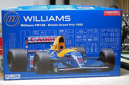 フジミ 1/20GP ウィリアムズFW14B イギリスGP仕様