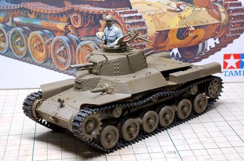 Tamiya 1/35MM 九七式中戦車 チハ