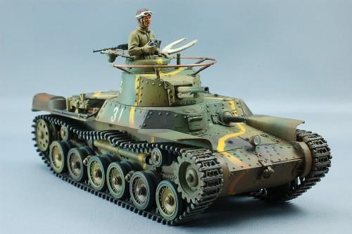 タミヤ1/35MM 九七式中戦車チハ