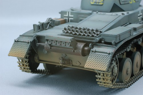 Tamiya 1/35MM II号戦車A~C型 フランス戦線