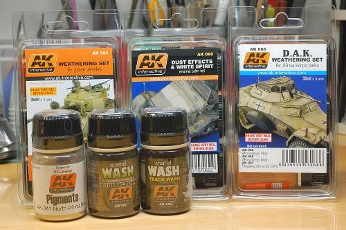 AKインタラクティブのウェザリング塗料