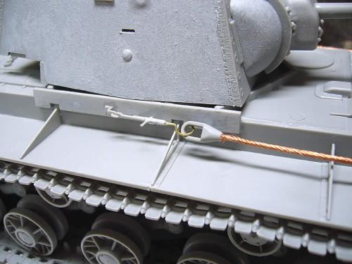 Trumpeter 1/35 KV-1 1942年型(溶接砲塔)