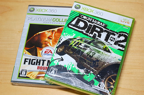 Xbox360 Dirt2 & Fight Night Round 3