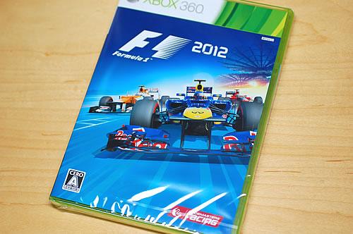 Xbox360 F1 2012