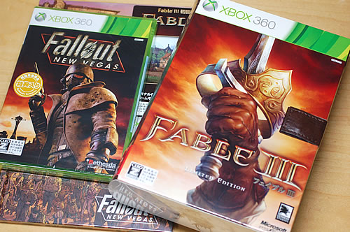Xbox360 fable III & Fallout:New Vegas