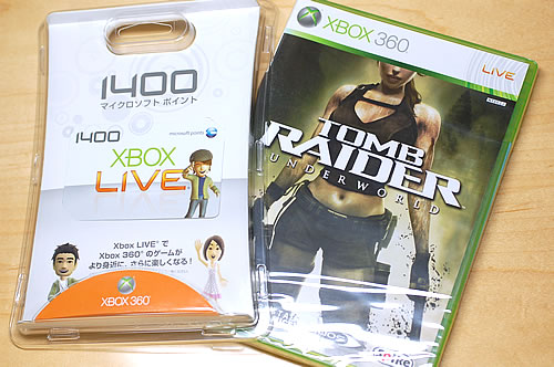 Xbox360 Tomb Raider:Underworld