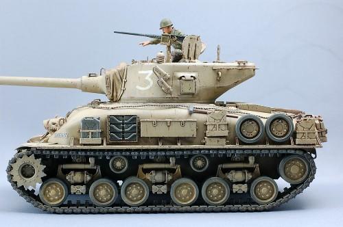 タミヤ 1/35MM M51スーパーシャーマン