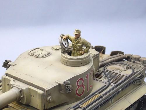 Tamiya 1/48MM TigerI極初期型(アフリカ仕様)