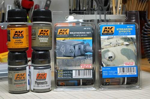AKインタラクティブ ウェザリング塗料
