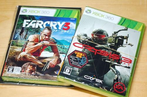 Xbox360 FARCRY3 & Crysis3