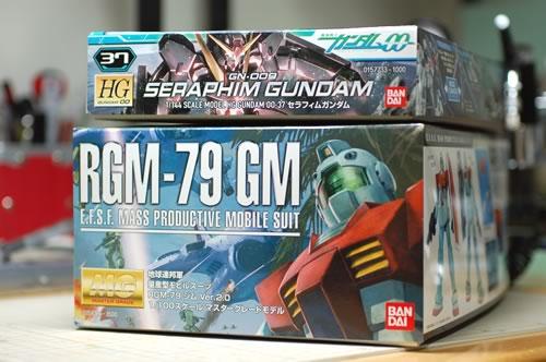 MG ジムVer.2.0とHG00 セラフィム
