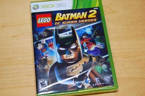 Xbox360 LEGO BATMAN2 DC Super Heros