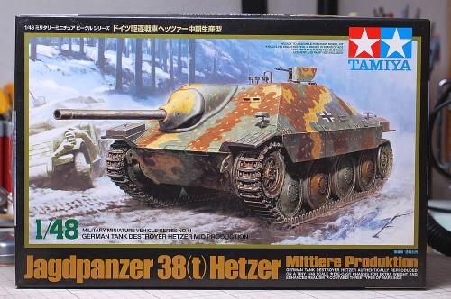 Tamiya 1/48MM ヘッツァー中期型