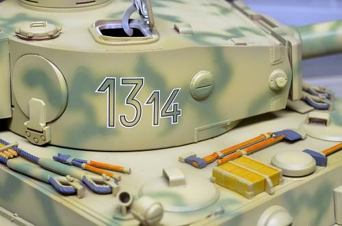 CyberHobby 1/35 ティーガーI 初期生産型