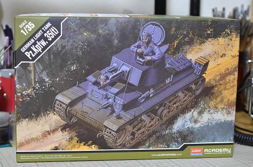 アカデミー 1/35 ドイツ軍35(t)軽戦車
