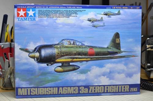タミヤ 1/48 三菱 零式艦上戦闘機 二二型