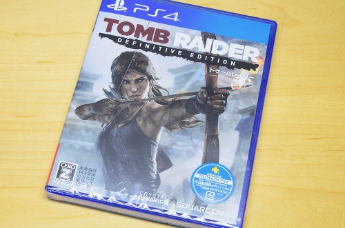 PS4版TombRaider