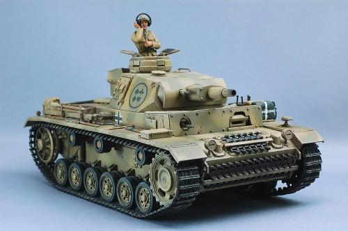 Tamiya 1/35MM III号戦車N型